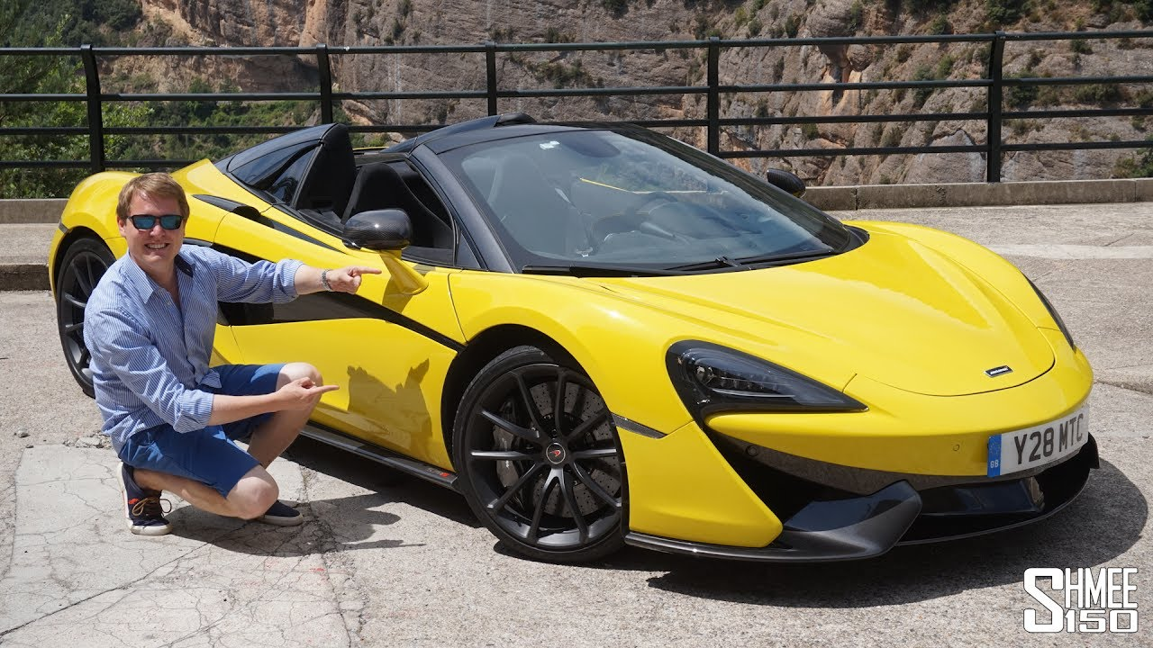 this is the new mclaren 570s spider! - youtube