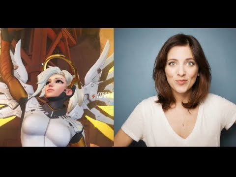 Interview with Lucie Pohl - Voice Actress of Mercy from Overwatch
