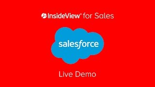 InsideView inside Salesforce CRM