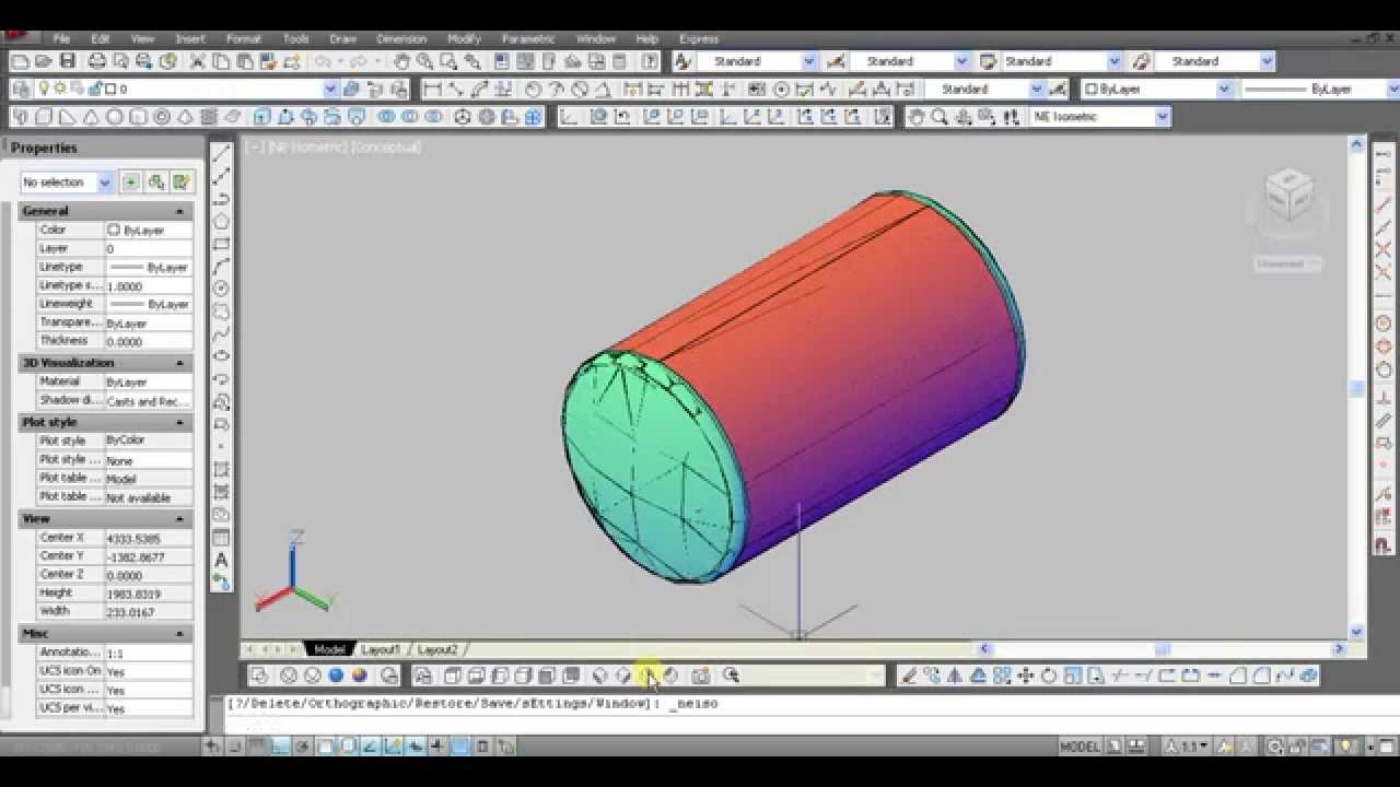 Autocad 2012 tutorial make shell 2d to 3d tanki youtube autocad 2012 tutorial make shell 2d to 3d tanki baditri Images