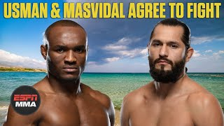 Reaction to Kamaru Usman & Jorge Masvidal agreeing to UFC 251 fight | ESPN MMA