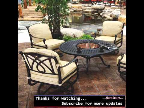 Outdoor Furniture With Fire Pit | Fire Pit Sets Romance - Outdoor Furniture With Fire Pit Fire Pit Sets Romance - YouTube