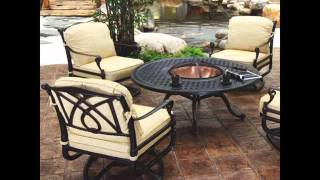 Outdoor Furniture With Fire Pit | Fire Pit Sets Romance