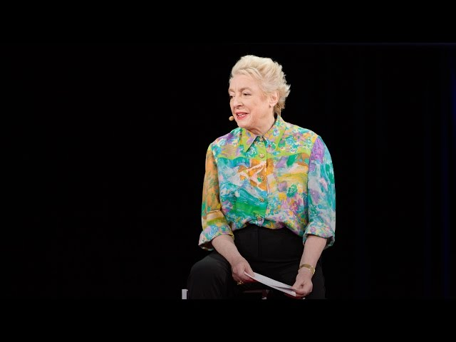 【TED】Dame Stephanie Shirley: Why do ambitious women have flat heads? (Dame Stephanie Shirley: Why do ambitious women have flat heads?)