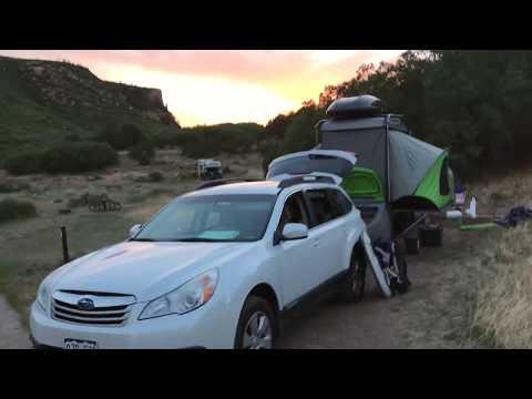 Zion Camping with Sylvan Sport Go Camper