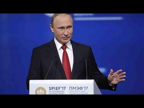 Putin talks sustainable development, anti-terrorism at St. Petersburg Forum