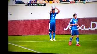 al hilal vs manchester city practice match funny throw in 2017 Video