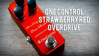One Control: STRAWBERRY RED OVERDRIVE