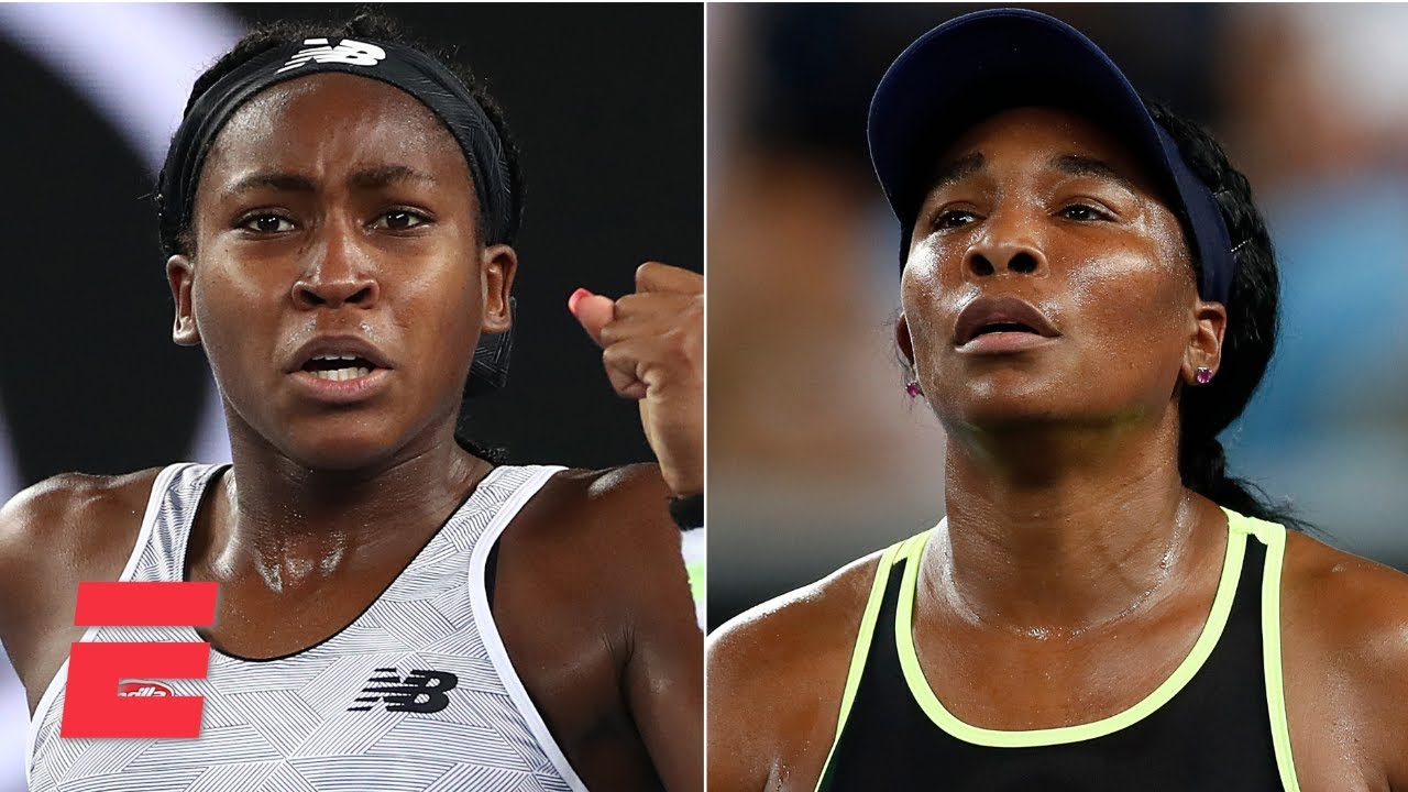 Coco Gauff defeats Venus Williams again in opening round of ...