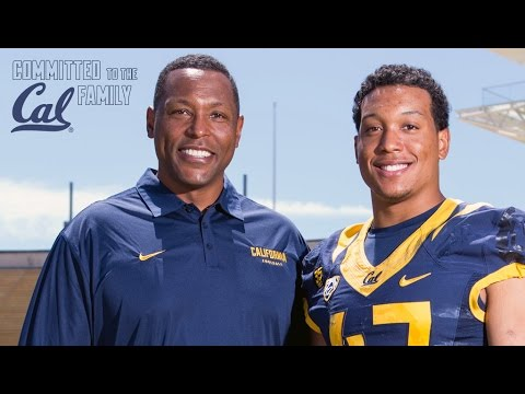 Committed to the Cal Family: Hardy Jr. & Hardy Sr. Nickerson