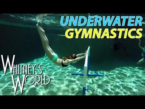 Underwater Gymnastics | Whitney & Blakely Bjerken