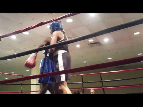 Amari Peebles defeated Joshua Hill in 139lb Silver Gloves Region III Tournament!