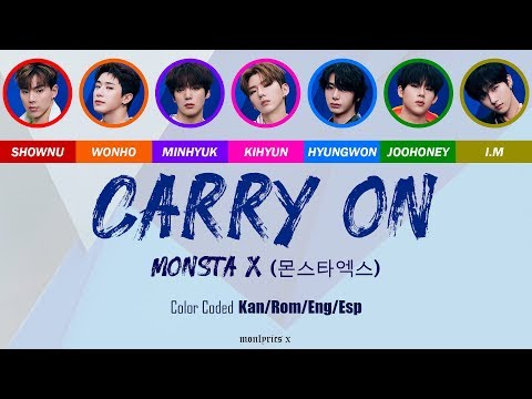 Download MONSTA X 몬스타엑스 - Carry On Color Coded Kan/Rom/Eng/Esp s Mp4 baru