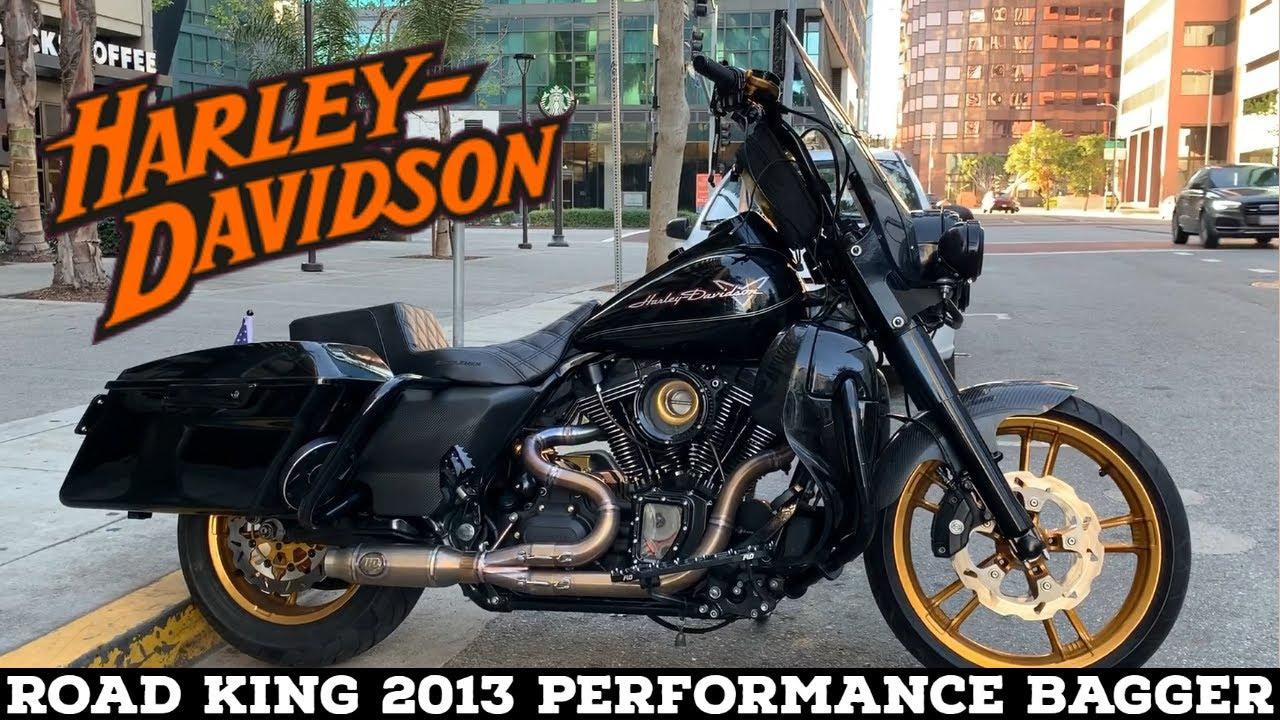 road king performance bagger horsepower inc exhaust harley davidson 2013 carbon fenders hofmann