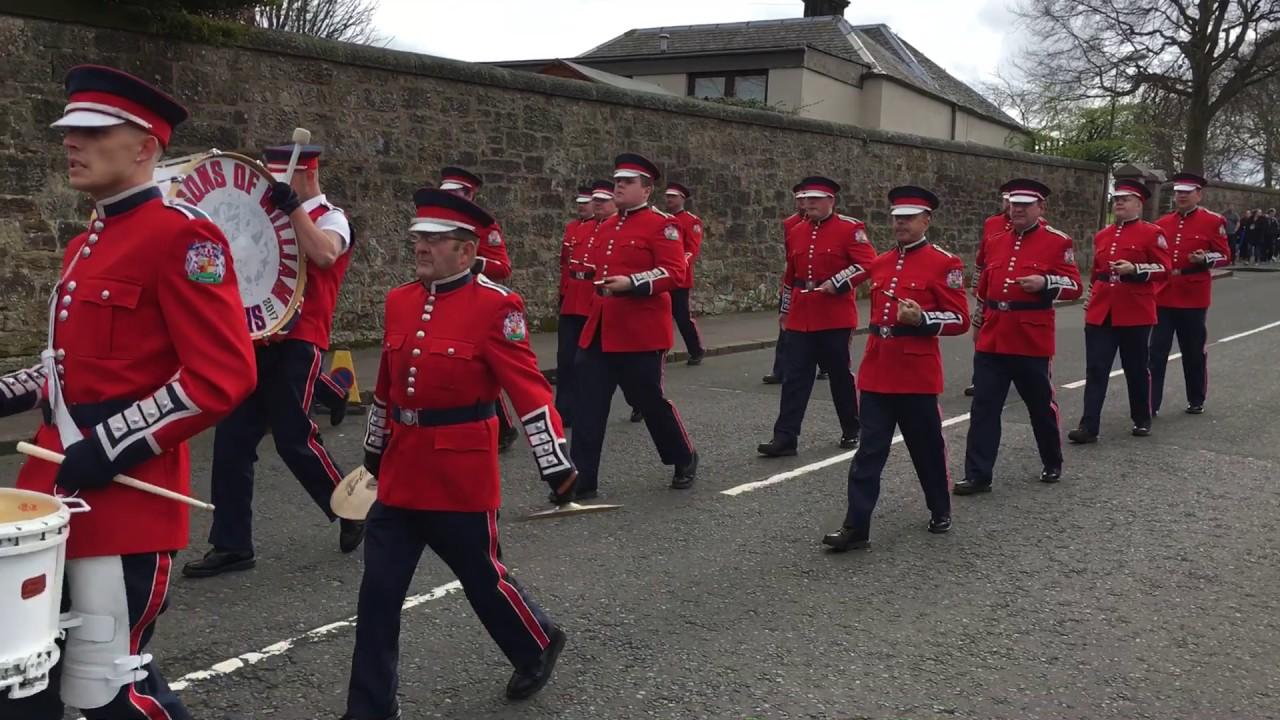Whitburn flute band th anniversary parade st april part