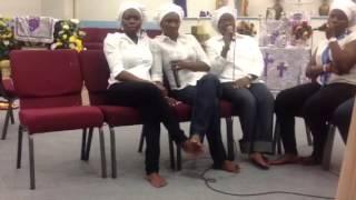 ccc ileri oluwa parish harvest of upliftment musical gymbor