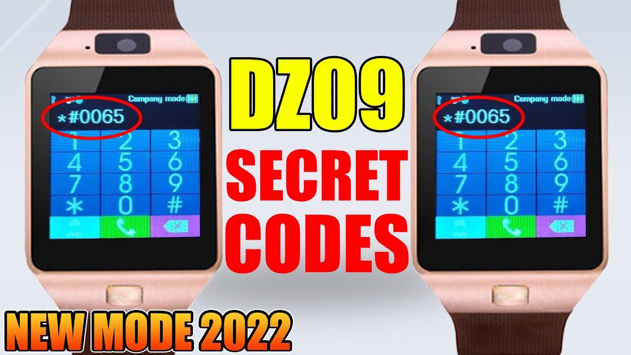 DZ09 Smartwatch secret codes