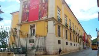 ポルトガル・リスボン・日本の屏風が展示されている国立古美術館訪問!