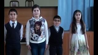 Литературный вечер. А.С.Пушкин.  Мирзалиева Э.А.