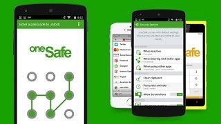 oneSafe ES [Android] Video review by Stelapps