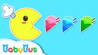 Learn Colors Pacman for Toddlers Kids | Fun Learning Colours Videos for Kids| BabyBus