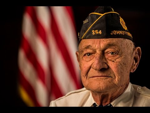 85 Year Old Army Veteran Paul Gottfried Recites Ragged Old Flag