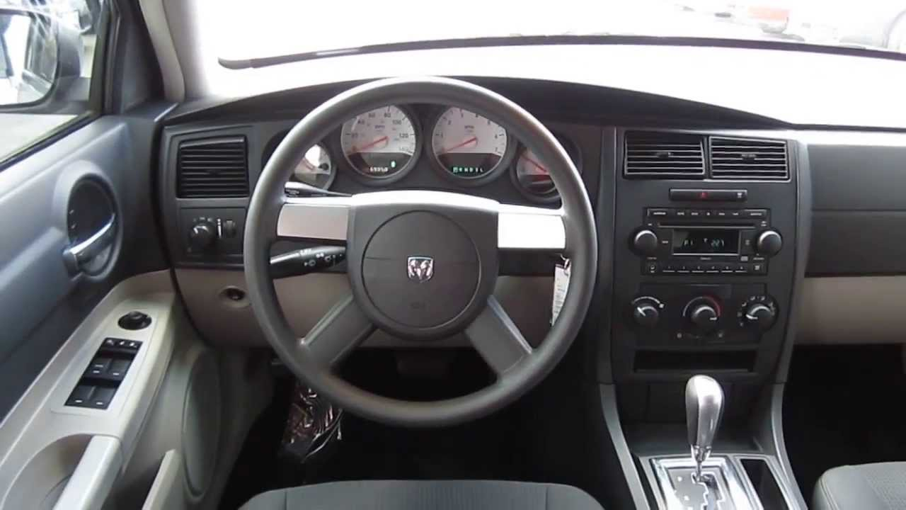 2007 dodge charger silver stock l815786 interior - Dodge magnum interior accessories ...
