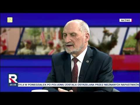 """A.Macierewicz """"niepokojąca cisza ws. wojsk USA"""" 22.05.2018"""