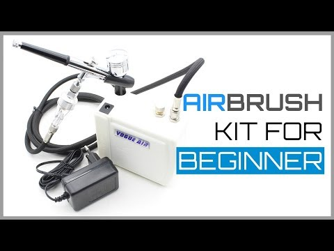 Review: Vogue Air Mini Compressor Airbrush Kit