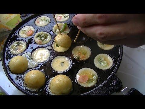 Jakarta Street Food 588 Brother Bule Takoyaki&Cubit Cake Takoyaki Kue Cubit Mas Bule BR TiVi 4109