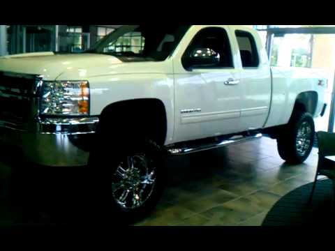 2011 Chevy Silverado Lift Kit