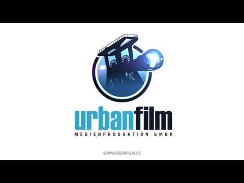 Urbanfilm Logoanimation mit Musik und Sounddesign