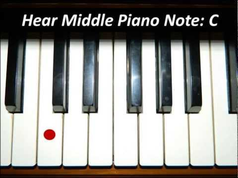Hear Piano Note - Middle C