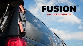 Feniex Fusion Pillar Mounts // The Brightest Lights for Police, Firefighters and EMS