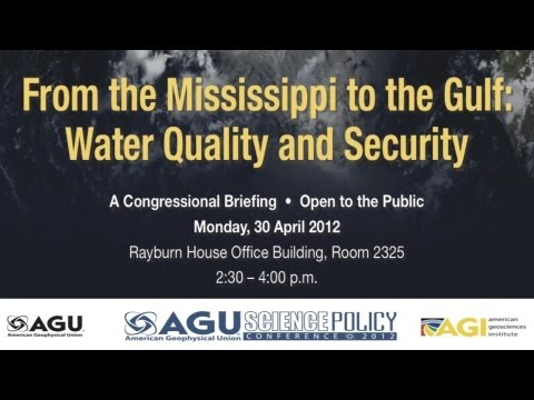 From the Mississippi to the Gulf: Water Quality and Security