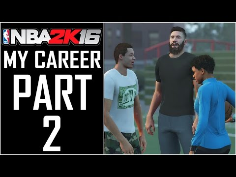 "NBA 2K16 - MyCareer - Let's Play - Part 2 - ""Career Intro, Abilities, And Animations"""