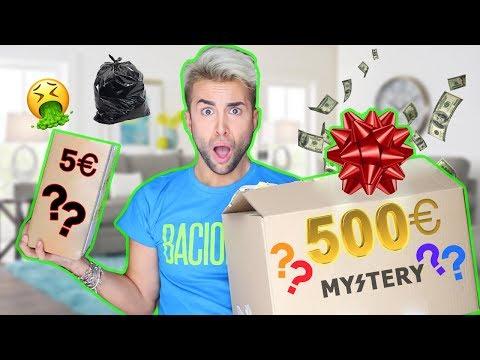 5€ VS 500€ MYSTERY BOX | GIANMARCO ZAGATO