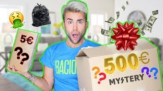 5€ VS 500€ MYSTERY BOX | GIANMARCO ZAGATO