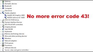 nvidia error 43 fix