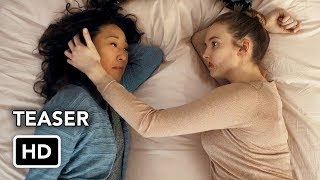 "Killing Eve Season 2 ""Coming in 2019"" Teaser Promo (HD) Sandra Oh, Jodie Comer series"