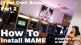 How to install and use mame on windows 10 - YouTube
