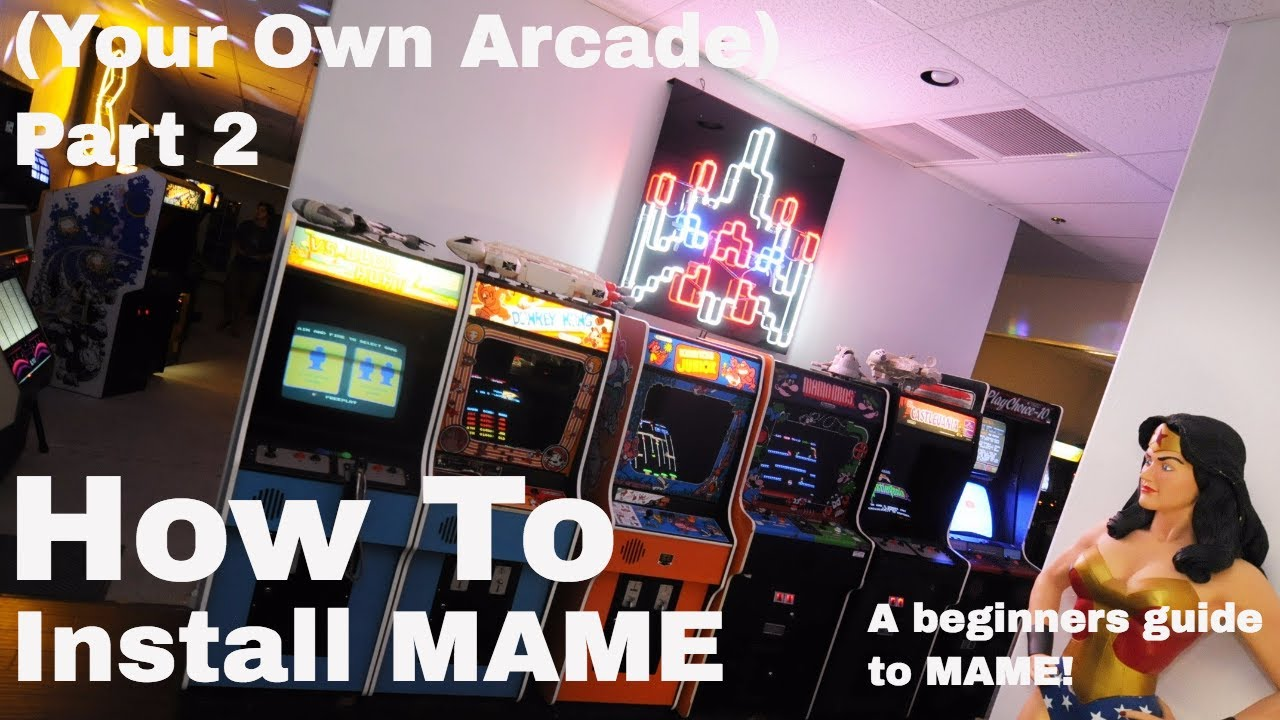 How to install and configure MAME - Your own Arcade machine! Part 2