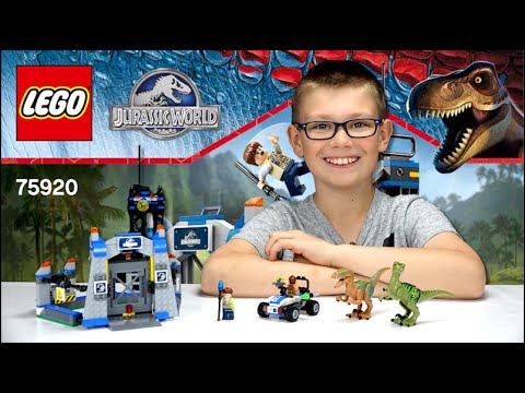 Lego Jurassic World Levasion Du Velociraptor Set 75920 Family