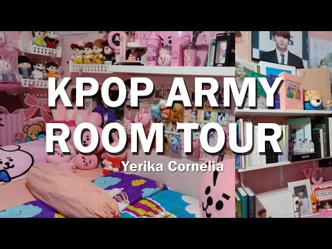 Kpop BTS Army Room Tour - BTS & BT21 Collection