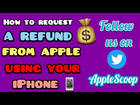 How to get a refund from apple on Apps, Books and other Media