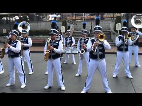 Духовой оркестр в Лос Анджелесе 2016.01.18
