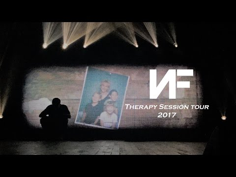 NF performing live at Therapy Session Tour 2017