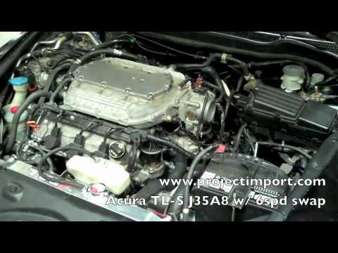 Project Import Honda Accord W Acura Tl S J35a8 Swap