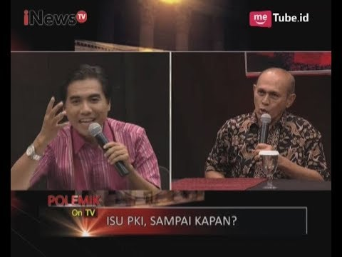 Panas! Debat Kivlan Zein dengan Alvon Soal Isu Seminar PKI di LBH Part 01 - Polemik On Tv 21/09