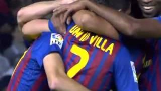 Barcelona vs Mallorca 5-0 - (Cuenca first goal for Barcleona) - 29.10.2011